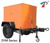 As rodas do carro tipo purificador de óleo isolante (Série Zym-6), menos consumo de energia