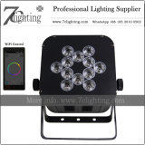 Telón de fondo a la par de LED LED inalámbrico decoración iluminación de escenarios 12x18W