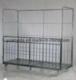 Grande contenitori del rullo placcati del pallet della rete metallica zinco