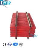 De hoge Plaat van de Kaak van het Mangaan voor de Chinese Maalmachine van de Kaak van het Type