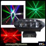 Luz principal móvil de la mini LED araña de la viga de RGBW 4in1 8*10W