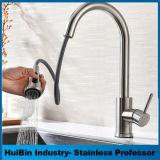 Design de moda de poupança de água de alavanca única alavanca de zinco bico longo de Alavanca Única pia de água de torneira de cozinha