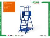 Escada de mão de Logística de armazém Carrinho Carrinho