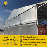 段階が付いている大きい屋外の商業イベントのテント