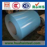 Bobina de aço galvanizada Cor-Revestida (padrão de Ral)
