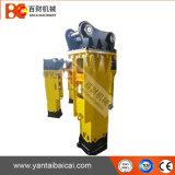 のみの直径100mmのボックスによって取付けられる油圧具体的なブレーカ