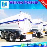 永久に3つの車軸アルミ合金オイルまたは燃料またはガソリンオイルタンクまたはタンク車のトレーラー