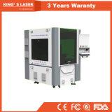 machine de découpage de laser de fibre de tôle d'acier de précision de commande numérique par ordinateur de 600*400mm