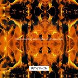 Impression de Hydrographics de configuration de flamme, impression de transfert de l'eau, films liquides de l'image PVA pour les postes extérieurs et canons (BDS233-6A)