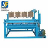 Máquina giratória de alta velocidade da cartonagem do ovo com secadores do metal