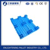 Palette en plastique d'utilisation de plancher du chargement statique 4ton pour la mémoire d'entrepôt