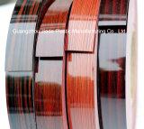 高い光沢のある木製の穀物デザインPVC装飾的なEdgebanding