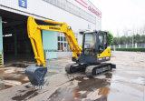 Hot Sale Sinomach 0,22 m3 de la construction d'équipements d'ingénierie de la machine 6 tonnes mini pelle hydraulique sur chenilles