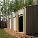 La luz y la estructura de acero prefabricados simple almacén