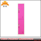2 Kast van het Kabinet van het Metaal van de Opslag van het Staal van de deur de Verticale