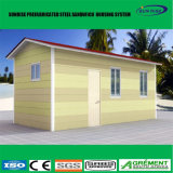 Casa pré-fabricada de vida Prefab modular do recipiente do bloco liso da HOME 20FT