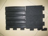 Factory Customed Rubber Interlocking Flooring Cow Mats clouded