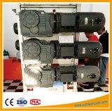 La construction d'un palan Bâtiment du moteur réducteur de vitesse du moteur de levage