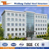 Prefabricados de estructura de acero de la luz ambiental de la construcción de casas prefabricadas