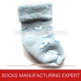 Носки Терри младенца с анти- ногой выскальзования (UBUY-110)