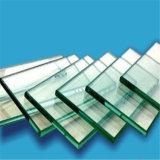 Le verre trempé clair de 6 mm avec bords polis