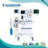 Anästhesie-Maschine mit Entlüfter über 2kg mit zwei Vaporizers und 7 Zoll grossen Bildschirm-