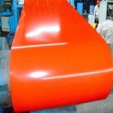 La couleur de PPGI a enduit la bobine en acier/bobine en acier galvanisée pour le bâtiment 0.14mm