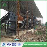 Basura verde de la gestión de desechos de la solución de la energía que clasifica la fábrica