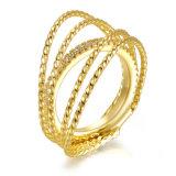 돌을%s 가진 소녀를 위한 형식 보석 금 반지 디자인