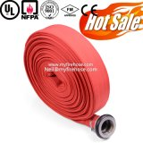 Tubo flessibile utilizzato di combattimento allineato tela di canapa dell'idrante antincendio