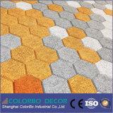 Comitato di parete acustico del cemento ecologico delle lane di legno di 100% per ginnastica