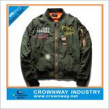 Jaqueta de bombom com jaqueta de inverno para homem personalizado com bordado