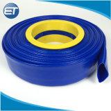 En PVC flexible d'eau Layflat personnalisé pour l'irrigation au goutte à goutte