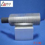 Непрерывный рабочий круглый стальной L Тип ребристые трубки и трубки