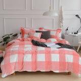 中国の製造者の珊瑚のフランネルの羊毛シートの寝具セット