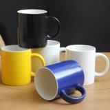 Tazza in bianco di sublimazione tazza di caffè di ceramica dei 10 dell'oncia S.U.A. della tazza promozionale di natale
