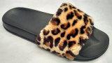 Зима мягкая мех, опорной части юбки поршня EVA Leopard Print женщин опорной части юбки поршня внутри опорной части юбки поршня
