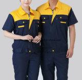 Workwear De estática-Livre do posto de gasolina da prevenção eletrostática curta da luva (verão)