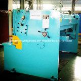 Máquina que pela hidráulica del metal de hoja de QC12y