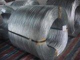 Alambre de acero galvanizado electro del hierro