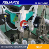 Máquina de relleno y que capsula el reactivo de diagnóstico estéril de la botella de cristal
