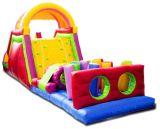 Aufblasbarer Hindernis-Kurs für Kinder und Erwachsene