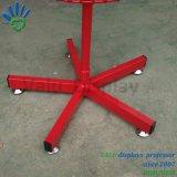 Los juguetes de metal para rack de Rotación de pantalla cables Soporte de pantalla Spinner con canasto y taumaturgo