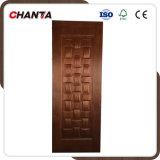 Konkurrierende geformte Tür-Haut mit Teakholz-Furnier-Blatt