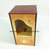 El rectángulo de regalo de la visualización del chocolate con crea para requisitos particulares