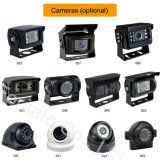 """7 """" Systeem van de Camera van de Auto van de Monitor van het Scherm van het Beeld van de Vierling Ahd het Reserve"""