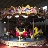 Amusement Park Kiddie 12 16 24 sièges Carrousel simple