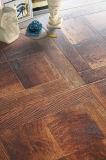 12,3 mm de textura de madera veteada Laminbate Nogal Madera Madera Piso Laminado