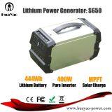 400With444wh AC/DC/USBの出力が付いている携帯用太陽エネルギーの発電機の電源