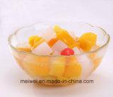 Conservas de frutas coquetel com alta qualidade